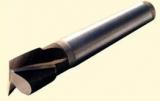 Фрезы шпоночные с цилиндрическим и коническим хвостовиком быстрорежущая сталь и твердосплавные пластины